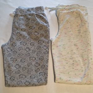 Girls Long Sweat Pants Bundle both Size 14/16